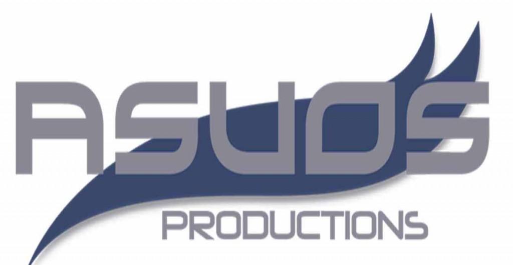 Asuos logo white background