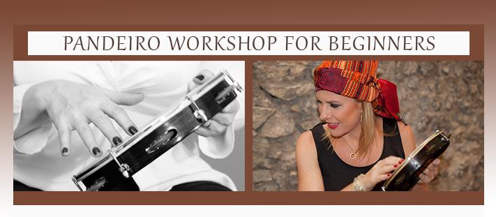 Pandeiro workshop for beginners