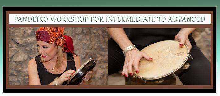 Pandeiro workshop for intermidiate2
