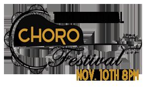 Logo Choro festival 2017