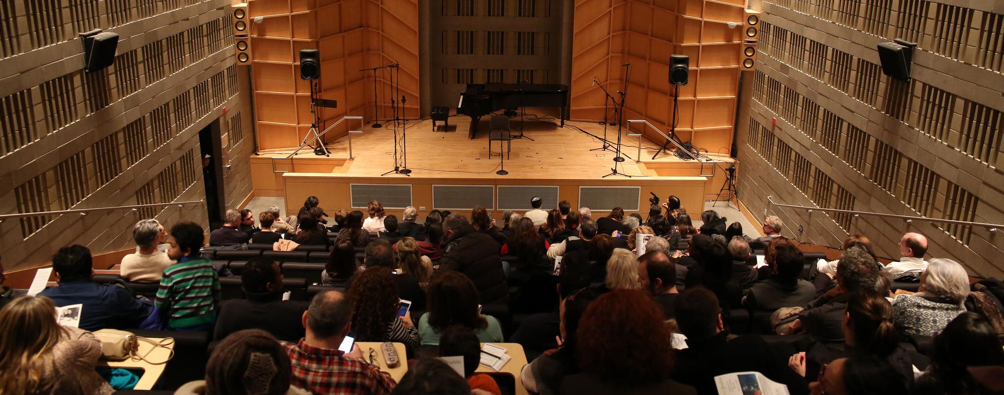 Baruch Performing Arts Center - Engelman Recital Hall