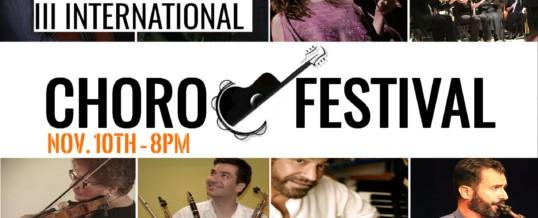 Choro Festival 2017