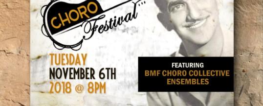 Choro Festival 2018